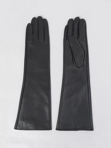 Перчатки кожа, цвет черный, арт. 18811074  - цена 2170 руб.  - магазин TOTOGROUP