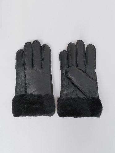 Перчатки дуб. овчина овчина крашен., цвет черный, арт. 18811078  - цена 1260 руб.  - магазин TOTOGROUP