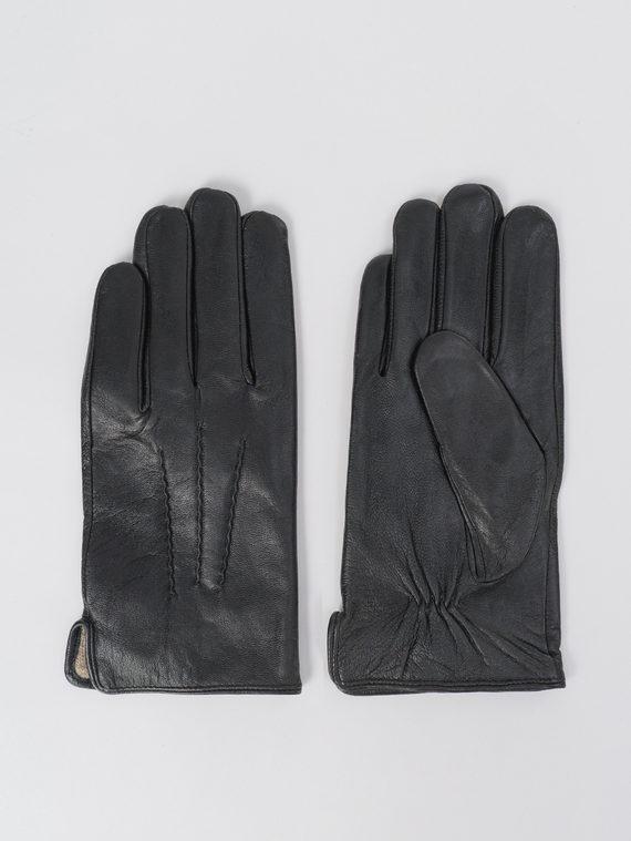 Перчатки кожа коза, цвет черный, арт. 18811080  - цена 1490 руб.  - магазин TOTOGROUP