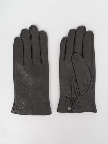 Перчатки кожа олень, цвет черный, арт. 18811087  - цена 2060 руб.  - магазин TOTOGROUP