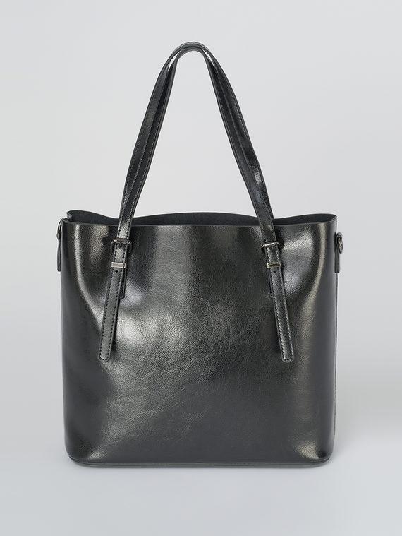 Сумка кожа теленок, цвет черный, арт. 18811106  - цена 5890 руб.  - магазин TOTOGROUP
