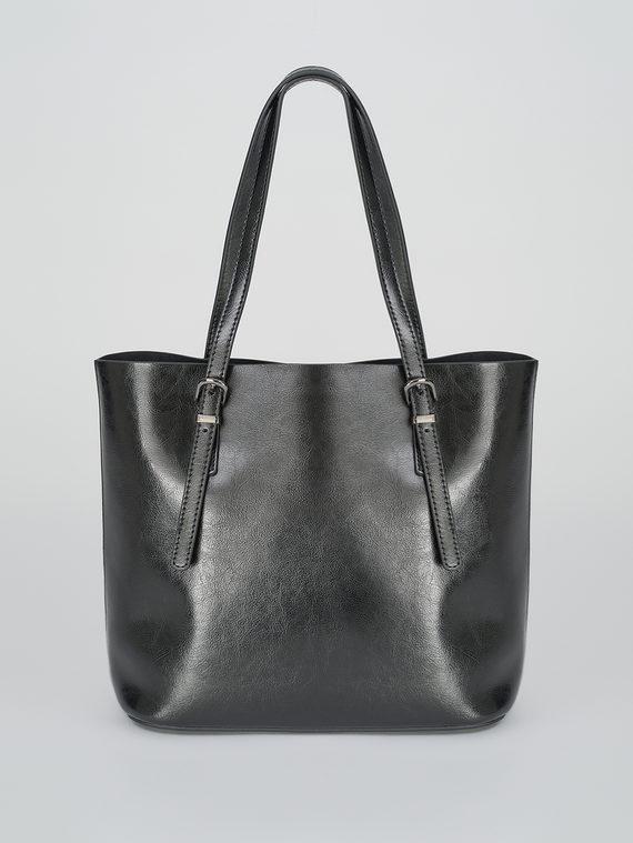 Сумка кожа теленок, цвет черный, арт. 18811107  - цена 5890 руб.  - магазин TOTOGROUP