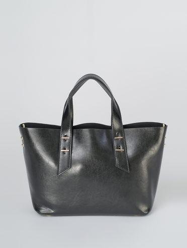 Сумка кожа теленок, цвет черный, арт. 18811108  - цена 5890 руб.  - магазин TOTOGROUP