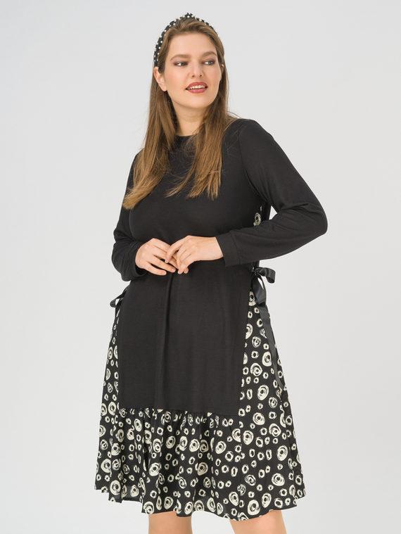 Платье , цвет черный, арт. 18811203  - цена 4990 руб.  - магазин TOTOGROUP