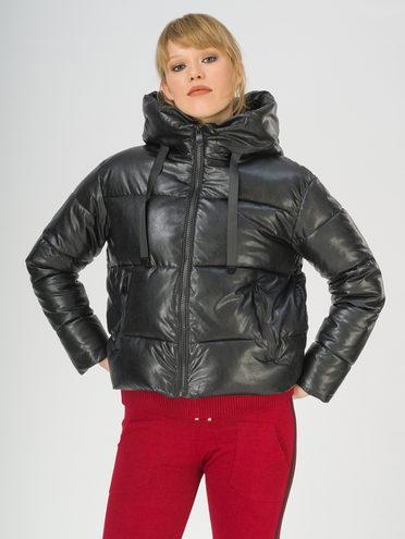 Кожаная куртка эко-кожа 100% П/А, цвет черный, арт. 18811209  - цена 2990 руб.  - магазин TOTOGROUP