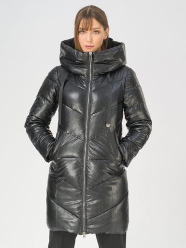 Кожаная куртка эко-кожа 100% П/А, цвет черный, арт. 18811211  - цена 4990 руб.  - магазин TOTOGROUP