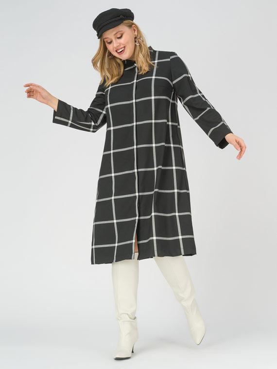 Платье 100% вискоза, цвет черный, арт. 18811250  - цена 6290 руб.  - магазин TOTOGROUP