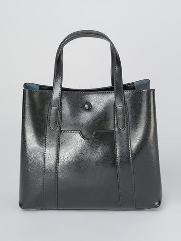 Сумка кожа теленок, цвет черный, арт. 18811328  - цена 4740 руб.  - магазин TOTOGROUP