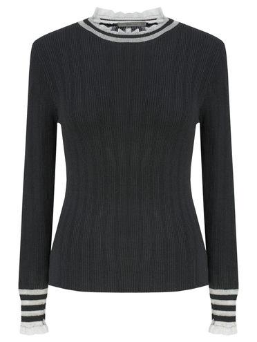 Джемпер , цвет черный, арт. 18811332  - цена 1570 руб.  - магазин TOTOGROUP
