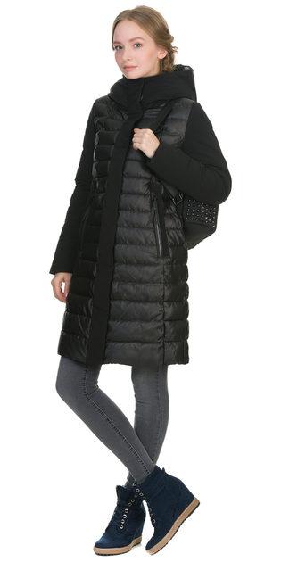 Пуховик текстиль, цвет черный, арт. 18900631  - цена 6990 руб.  - магазин TOTOGROUP
