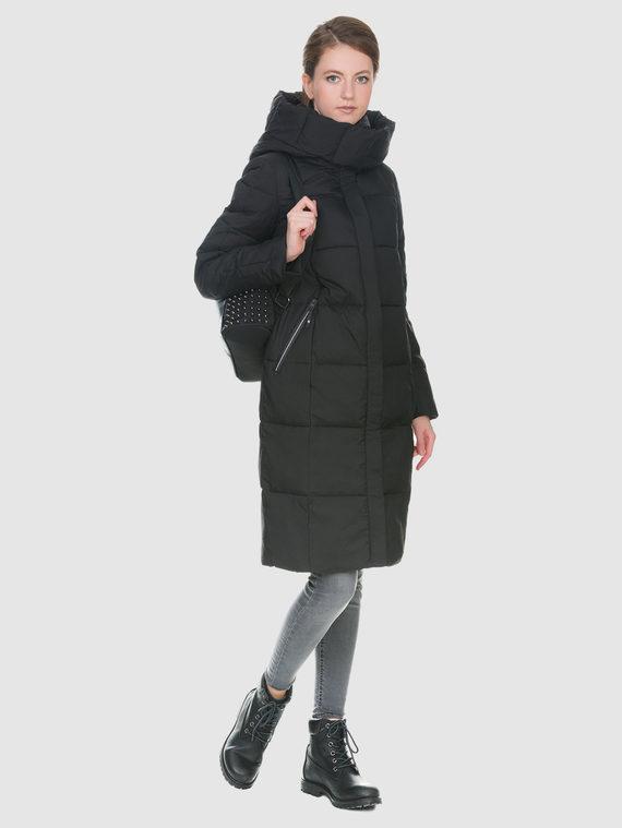 Пуховик текстиль, цвет черный, арт. 18900634  - цена 5290 руб.  - магазин TOTOGROUP