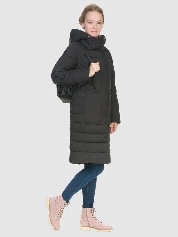 Пуховик текстиль, цвет черный, арт. 18900635  - цена 4990 руб.  - магазин TOTOGROUP