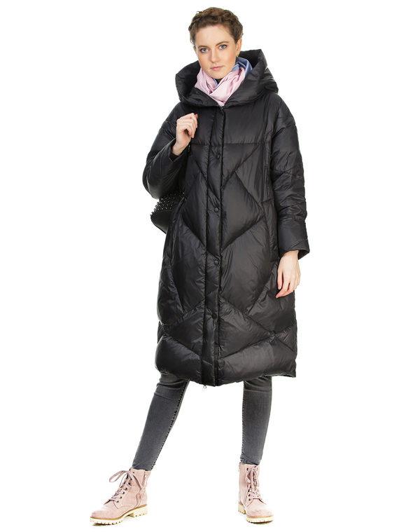 Пуховик текстиль, цвет черный, арт. 18900640  - цена 6290 руб.  - магазин TOTOGROUP