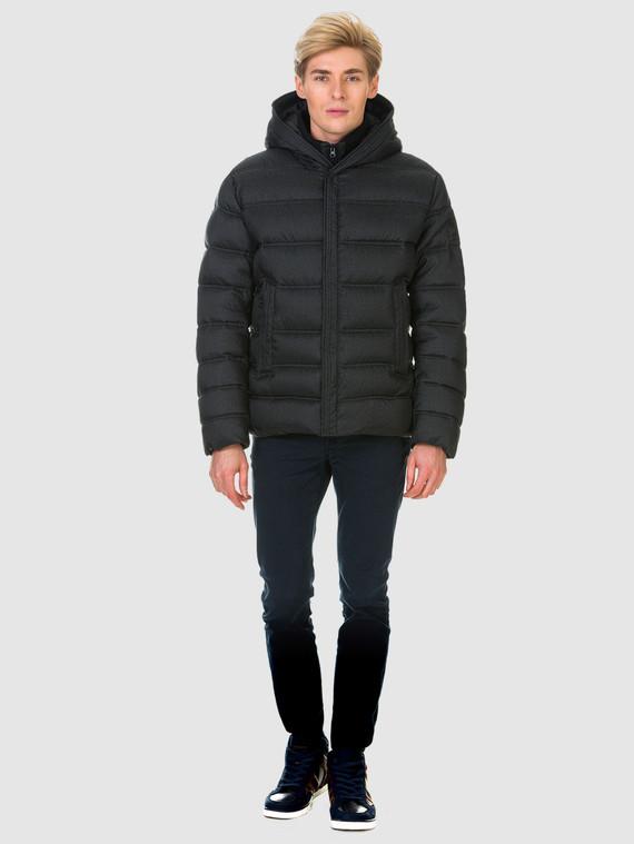 Пуховик текстиль, цвет черный, арт. 18900695  - цена 6990 руб.  - магазин TOTOGROUP
