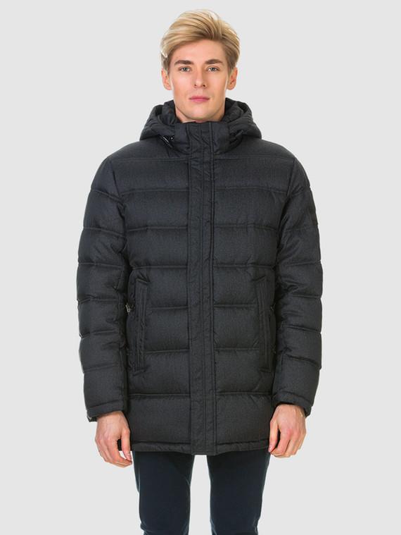 Пуховик текстиль, цвет черный, арт. 18900698  - цена 6990 руб.  - магазин TOTOGROUP