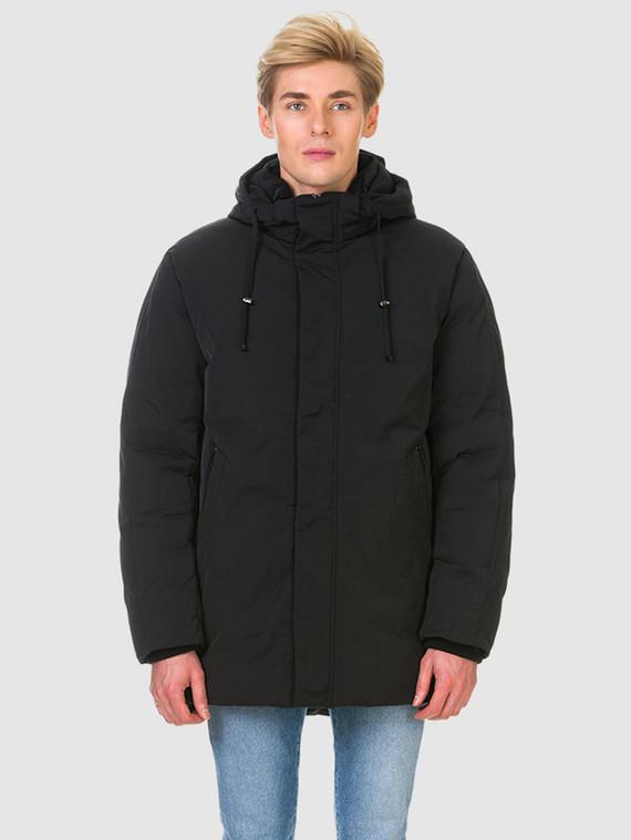 Пуховик текстиль, цвет черный, арт. 18900700  - цена 6990 руб.  - магазин TOTOGROUP