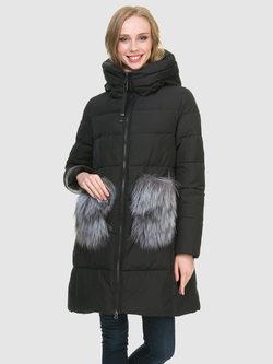 Пуховик текстиль, цвет черный, арт. 18900785  - цена 8990 руб.  - магазин TOTOGROUP