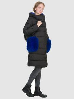 Пуховик текстиль, цвет черный, арт. 18900879  - цена 8990 руб.  - магазин TOTOGROUP