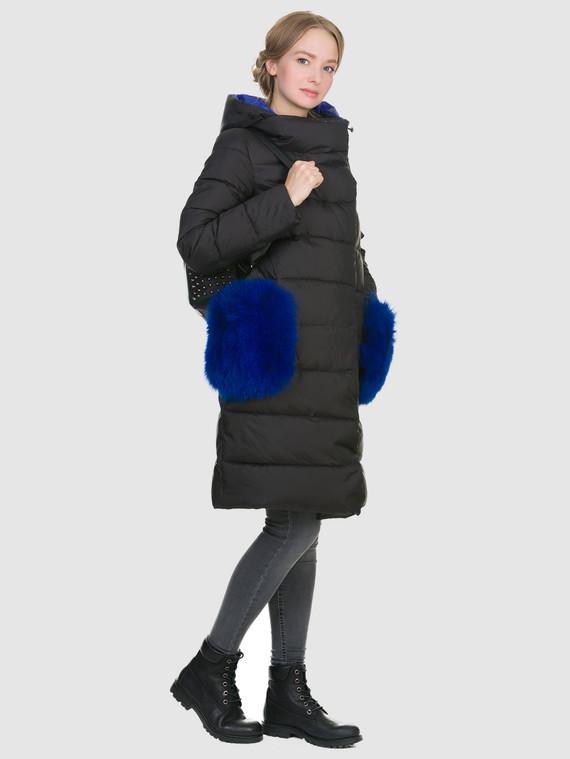 Пуховик текстиль, цвет черный, арт. 18900879  - цена 7990 руб.  - магазин TOTOGROUP