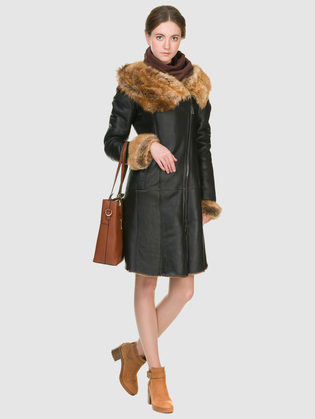 Дубленка дуб. овчина, цвет светло-коричневый, арт. 18900915  - цена 26990 руб.  - магазин TOTOGROUP
