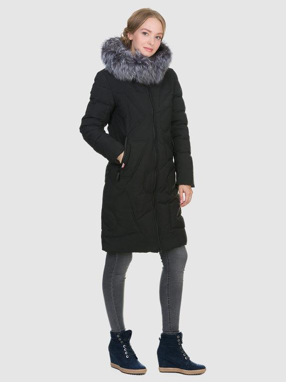 Пуховик текстиль, цвет черный, арт. 18900949  - цена 6630 руб.  - магазин TOTOGROUP