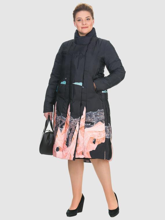 Пуховик текстиль, цвет черный, арт. 18900979  - цена 5590 руб.  - магазин TOTOGROUP