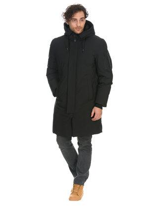 Пуховик текстиль, цвет черный, арт. 18901002  - цена 8490 руб.  - магазин TOTOGROUP