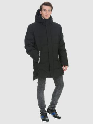 Пуховик текстиль, цвет черный, арт. 18901003  - цена 7990 руб.  - магазин TOTOGROUP