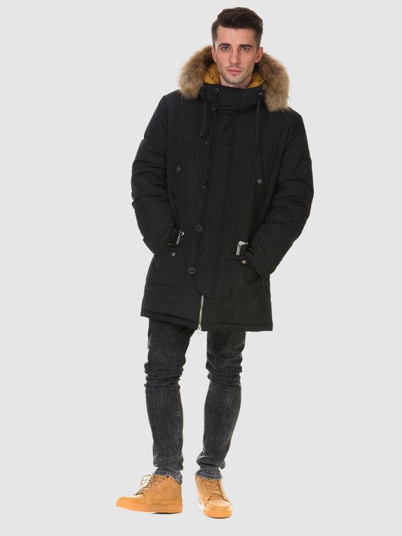 Пуховик текстиль, цвет черный, арт. 18901006  - цена 7490 руб.  - магазин TOTOGROUP