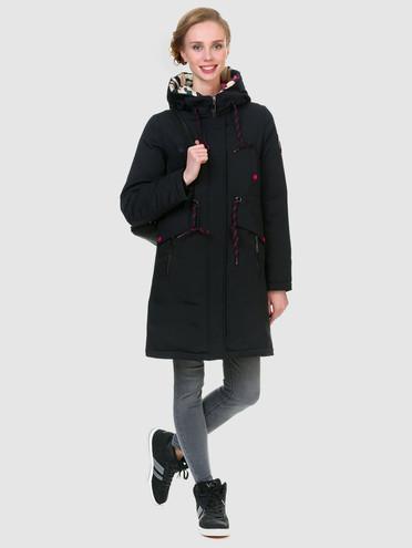 Пуховик текстиль, цвет черный, арт. 18901012  - цена 2290 руб.  - магазин TOTOGROUP