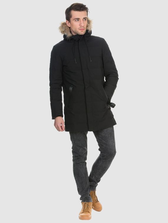 Пуховик текстиль, цвет черный, арт. 18901022  - цена 4740 руб.  - магазин TOTOGROUP