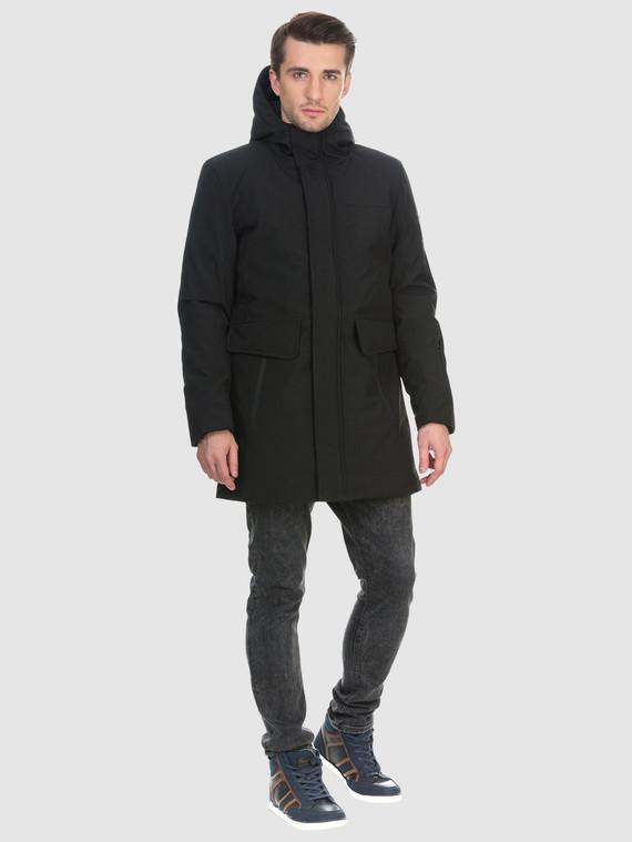 Пуховик текстиль, цвет черный, арт. 18901025  - цена 6630 руб.  - магазин TOTOGROUP