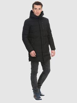 Пуховик текстиль, цвет черный, арт. 18901026  - цена 6290 руб.  - магазин TOTOGROUP