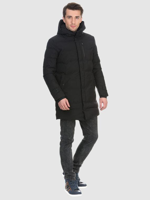 Пуховик текстиль, цвет черный, арт. 18901026  - цена 4490 руб.  - магазин TOTOGROUP