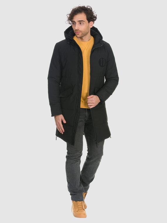 Пуховик текстиль, цвет черный, арт. 18901028  - цена 3590 руб.  - магазин TOTOGROUP