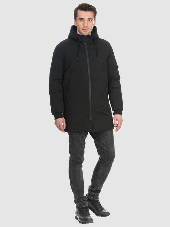 Пуховик текстиль, цвет черный, арт. 18901030  - цена 3990 руб.  - магазин TOTOGROUP
