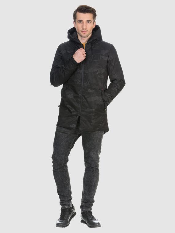 Пуховик текстиль, цвет черный, арт. 18901031  - цена 3390 руб.  - магазин TOTOGROUP