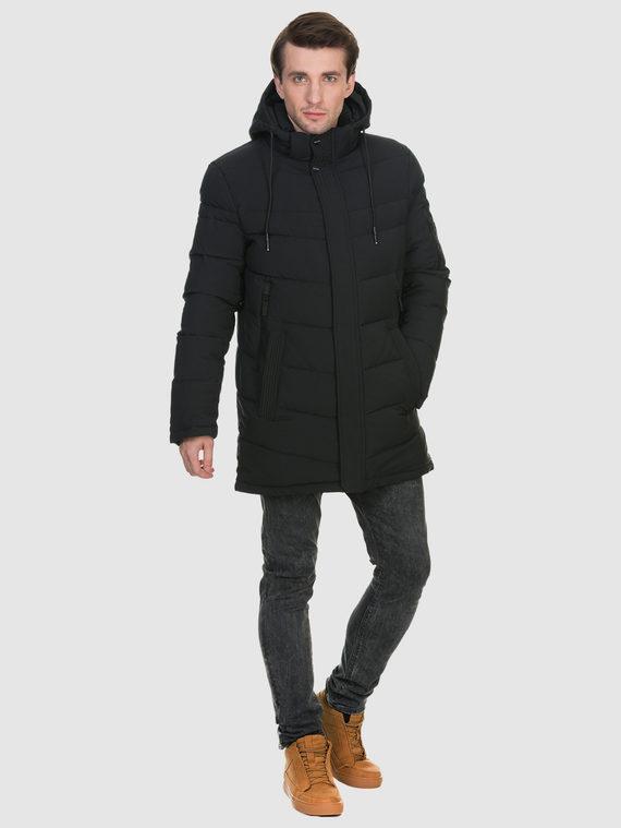 Пуховик текстиль, цвет черный, арт. 18902631  - цена 3990 руб.  - магазин TOTOGROUP