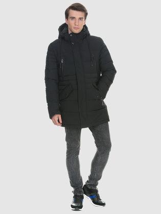 Пуховик текстиль, цвет черный, арт. 18902632  - цена 6990 руб.  - магазин TOTOGROUP