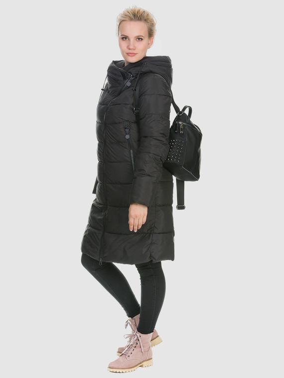 Пуховик текстиль, цвет черный, арт. 18902672  - цена 5890 руб.  - магазин TOTOGROUP