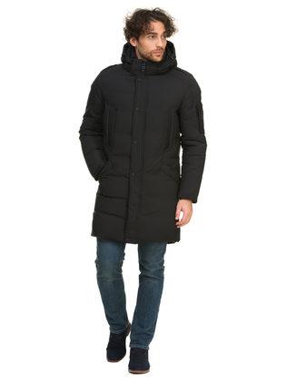 Пуховик текстиль, цвет черный, арт. 18902742  - цена 6990 руб.  - магазин TOTOGROUP
