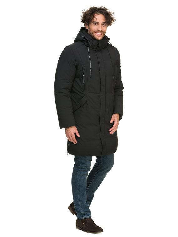 Пуховик текстиль, цвет черный, арт. 18902743  - цена 4490 руб.  - магазин TOTOGROUP