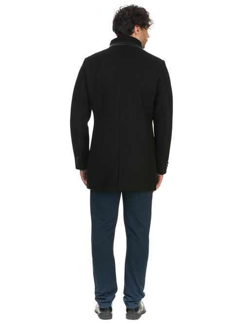 Текстильное пальто артикул 18902746/46 - фото 3
