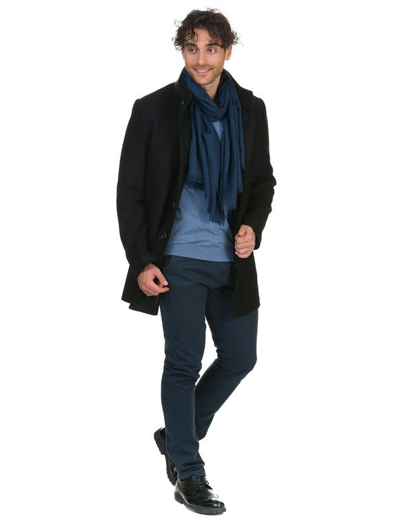 Текстильное пальто 51% п/э,49%шерсть, цвет черный, арт. 18902746  - цена 4490 руб.  - магазин TOTOGROUP