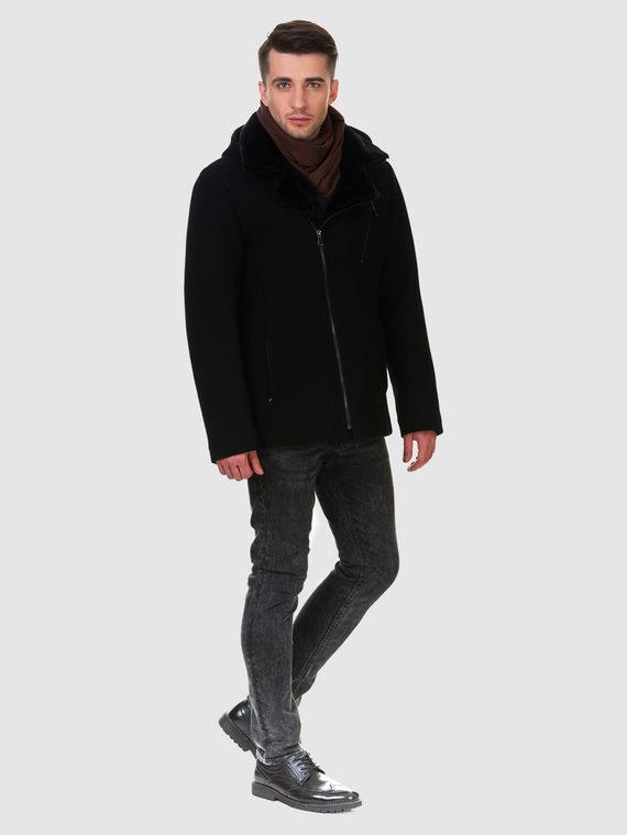 Текстильное пальто 51% п/э,49%шерсть, цвет черный, арт. 18902758  - цена 4740 руб.  - магазин TOTOGROUP