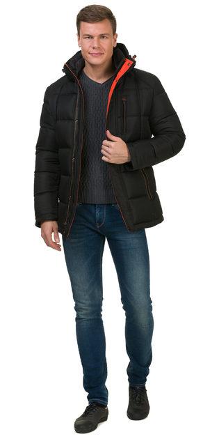 Пуховик текстиль, цвет черный, арт. 18902760  - цена 5890 руб.  - магазин TOTOGROUP