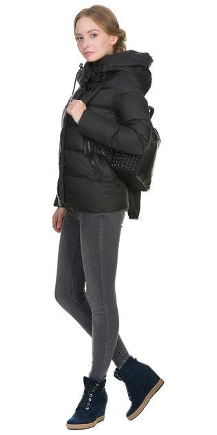 Пуховик текстиль, цвет черный, арт. 18902772  - цена 5890 руб.  - магазин TOTOGROUP
