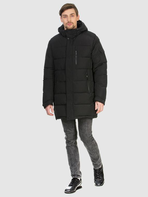 Пуховик текстиль, цвет черный, арт. 18902775  - цена 4490 руб.  - магазин TOTOGROUP