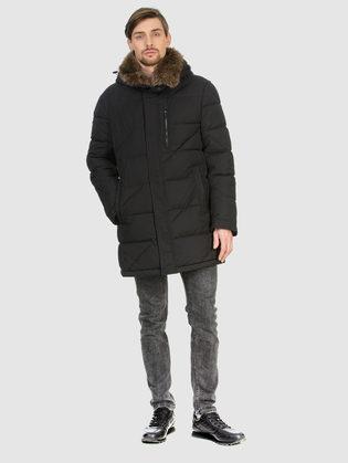 Пуховик текстиль, цвет черный, арт. 18902776  - цена 8490 руб.  - магазин TOTOGROUP