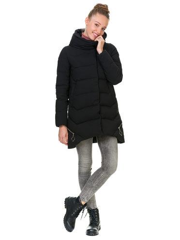 Пуховик текстиль, цвет черный, арт. 18902825  - цена 3790 руб.  - магазин TOTOGROUP